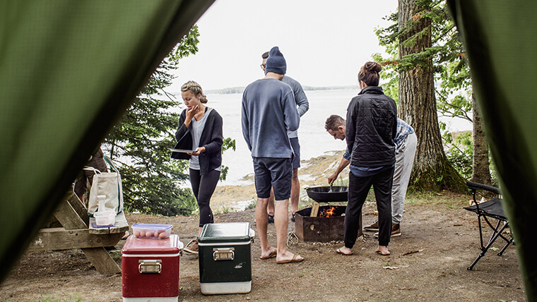 Find the perfect campsite or Maine RV site on the coast or in the woods.