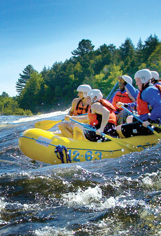 Discover Maine's outdoor adventure resorts where the adventure begins the second you step outside your cabin.